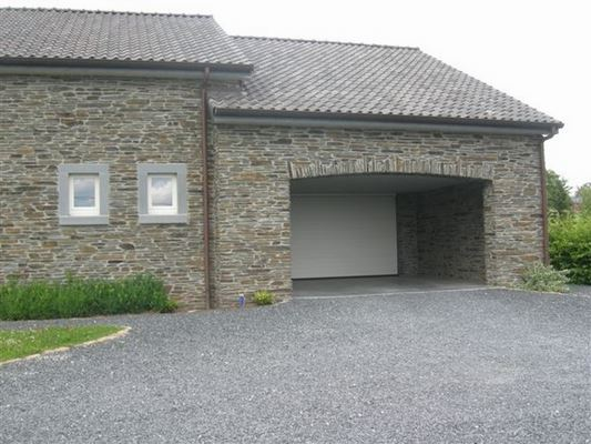 Entreprise de construction de maison à Malmedy: garage